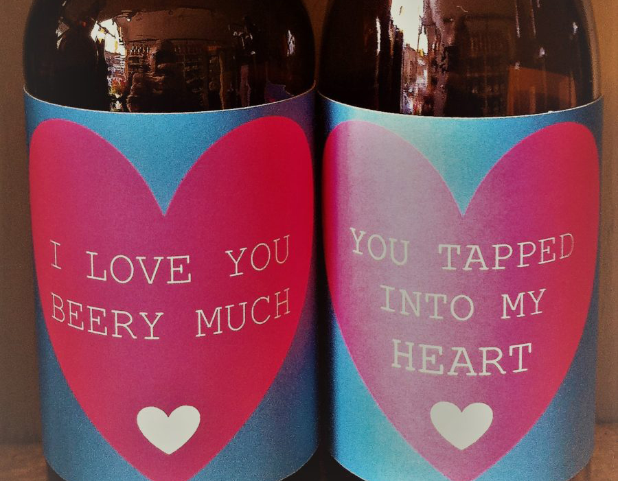 Love is in the Beer